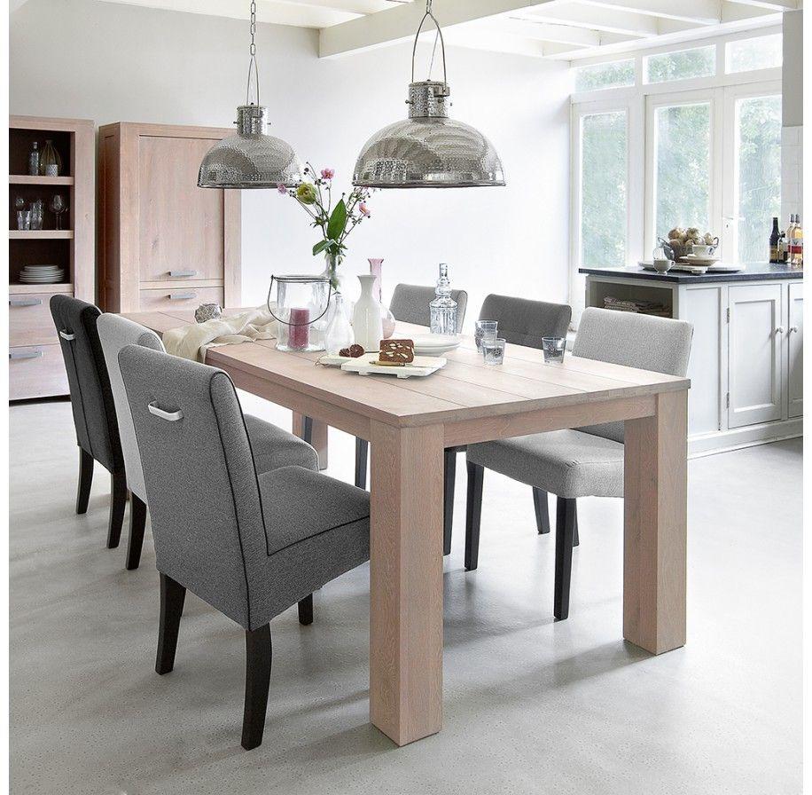 Eetkamertafel elvo pronto wonen heerlijk tafelen pinterest eetkamertafel en meubels - Decoratie tafel eetkamer ...