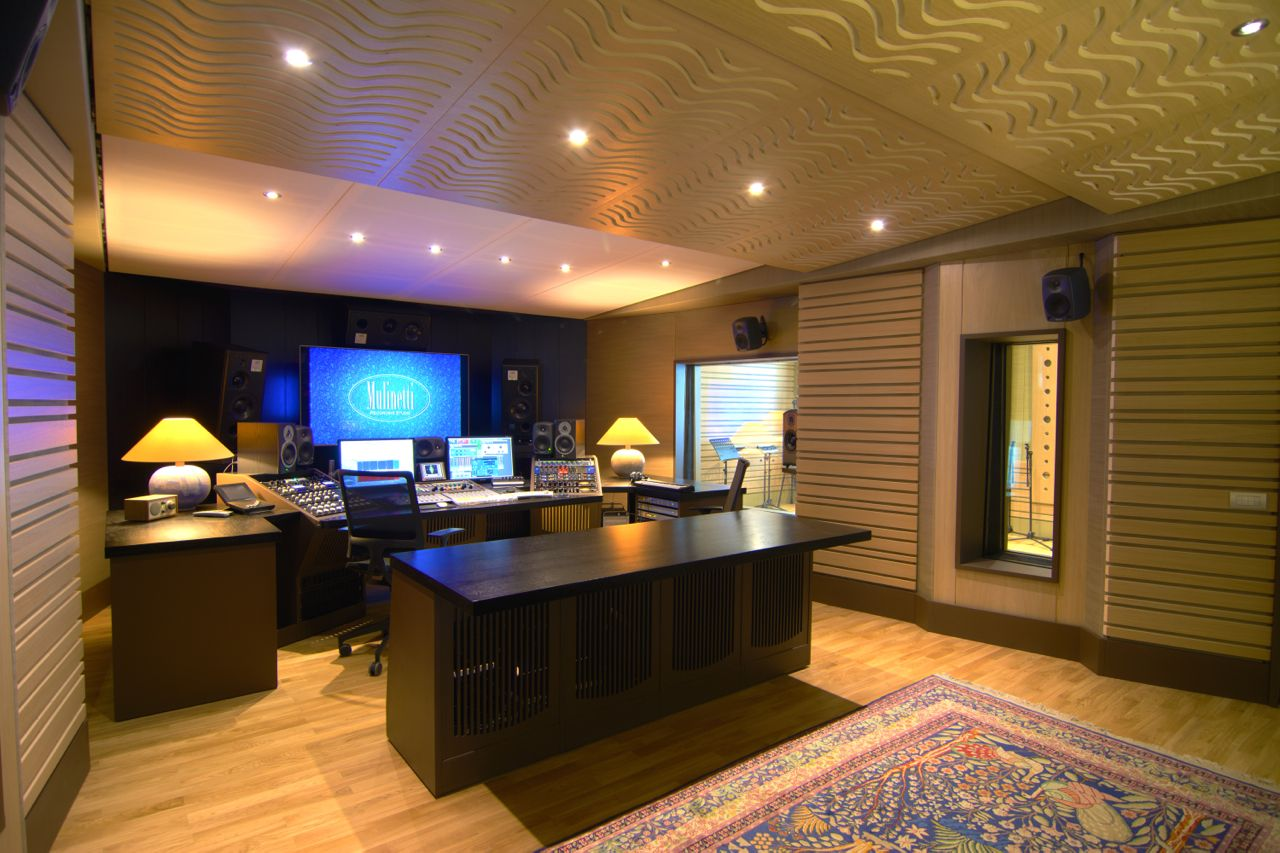 Mulinetti Recording Studio Genova Acoustic Design Recording  # Meuble Tv Genova