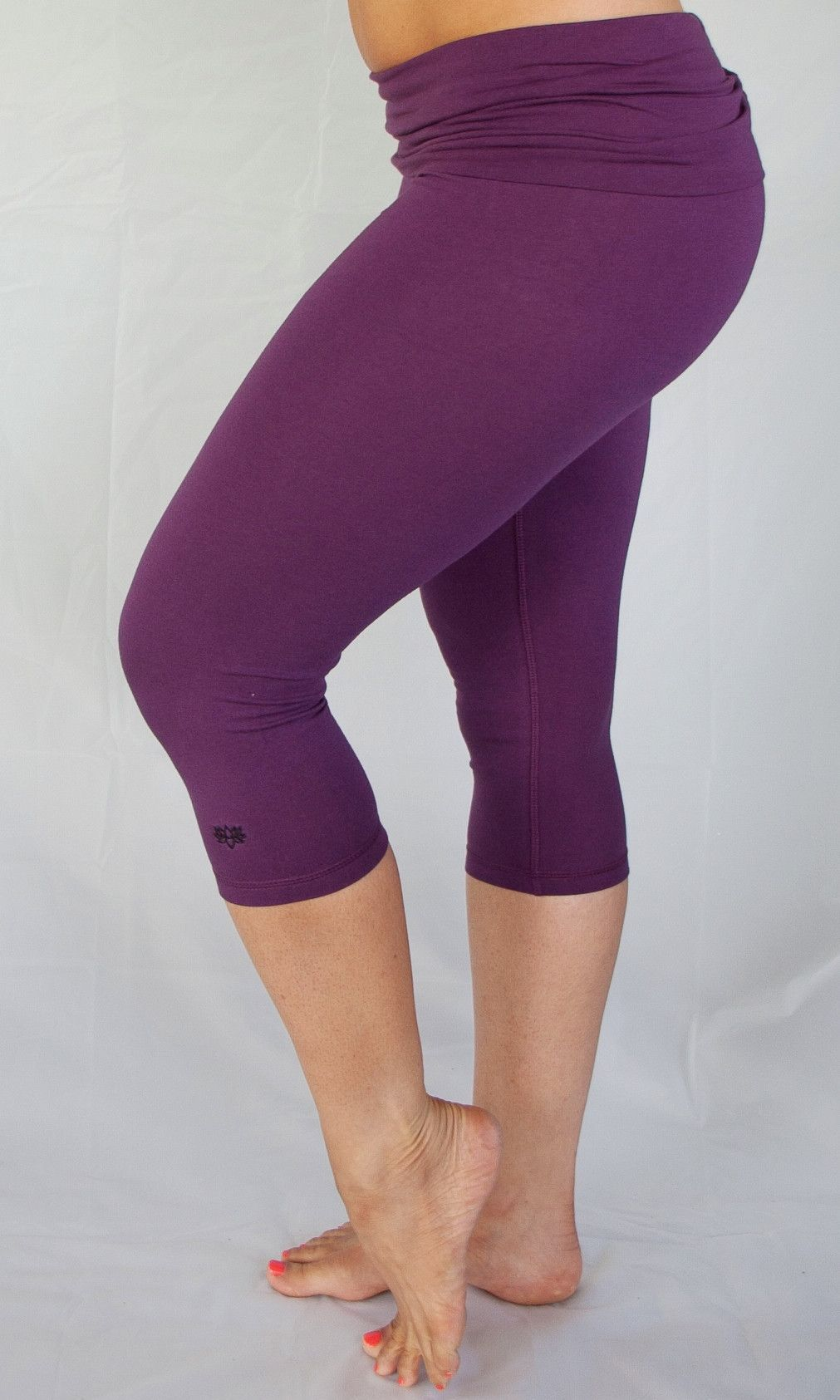 9378e4ab4d Plum 3/4 Length Yoga Pants | Products | Yoga Pants, Pants, Yoga