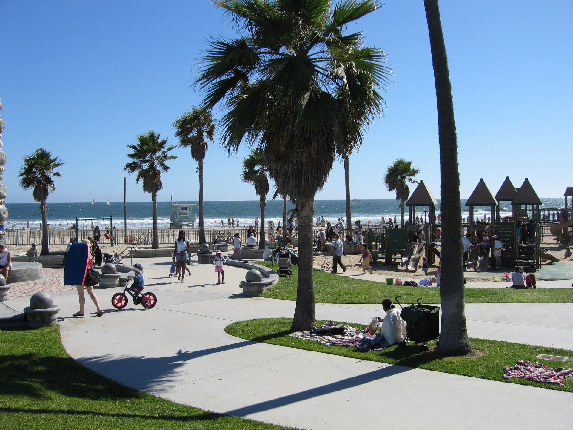 Visiting the sights sounds and flavor of Venice Beach in the Summer
