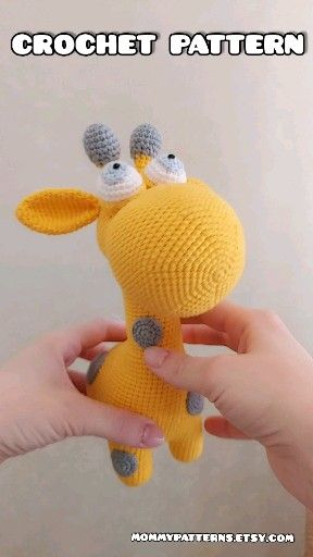 Photo of Amigurumi PATTERN toy Giraffe