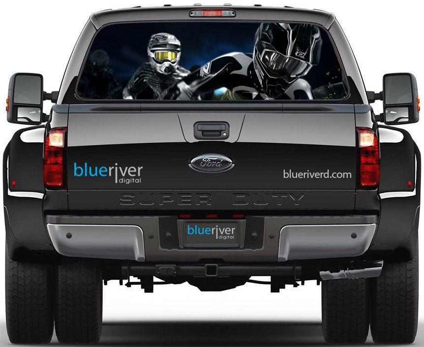 Motocross Rear Window Decal Stuff To Buy Pinterest Rear - Truck decal graphicstruck and vehicle decal graphic design stock vector image
