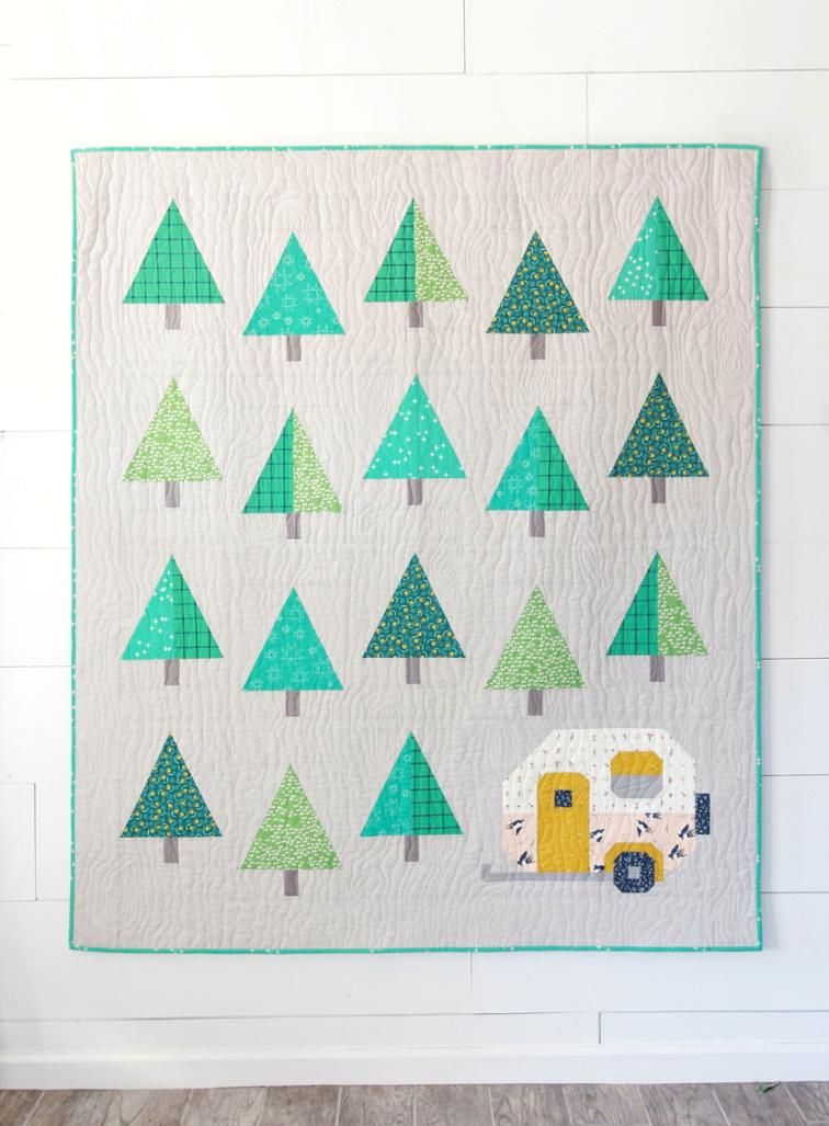 Up North Quilt Pattern | Nähen