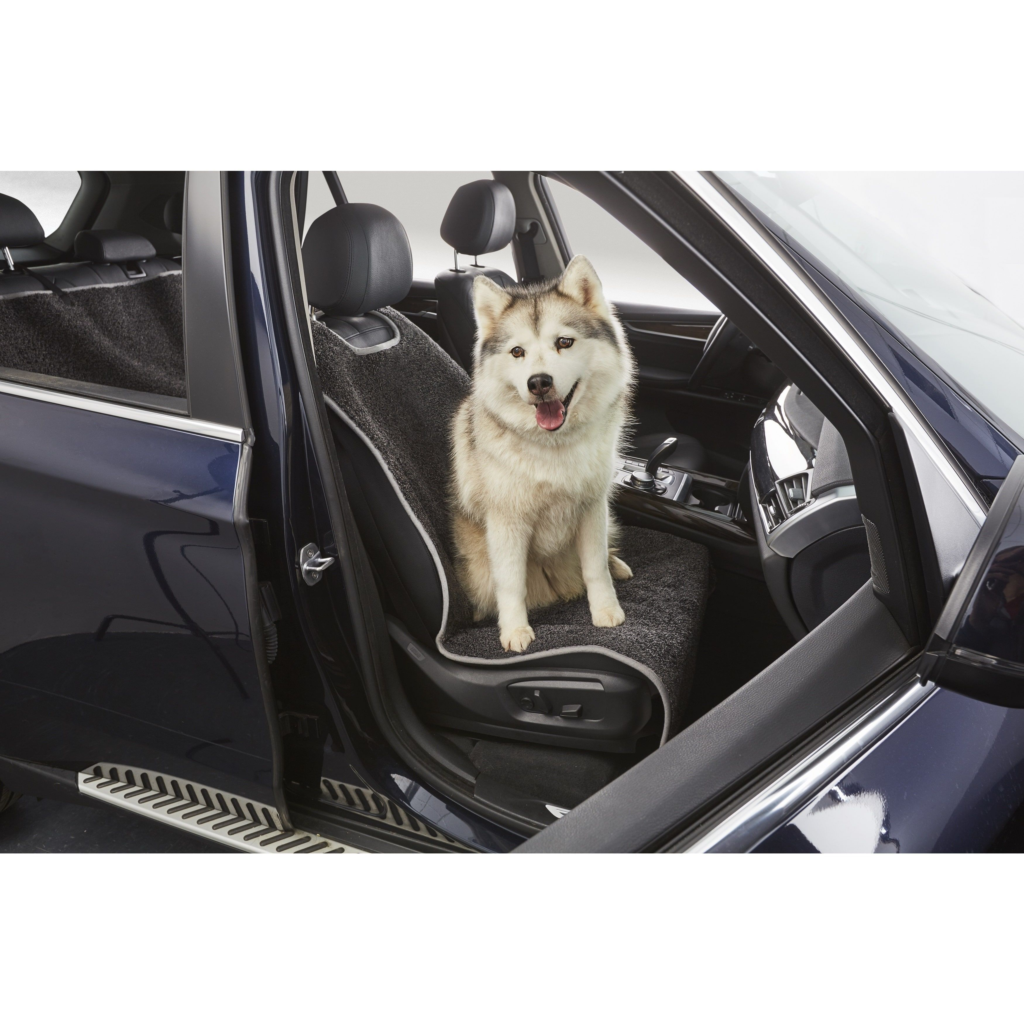 RugArmour FrontSeat Pet Protector As Happy as a Dog in a
