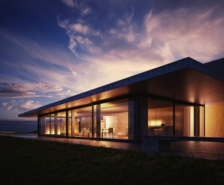 Amazing Modern House Render Photo 1