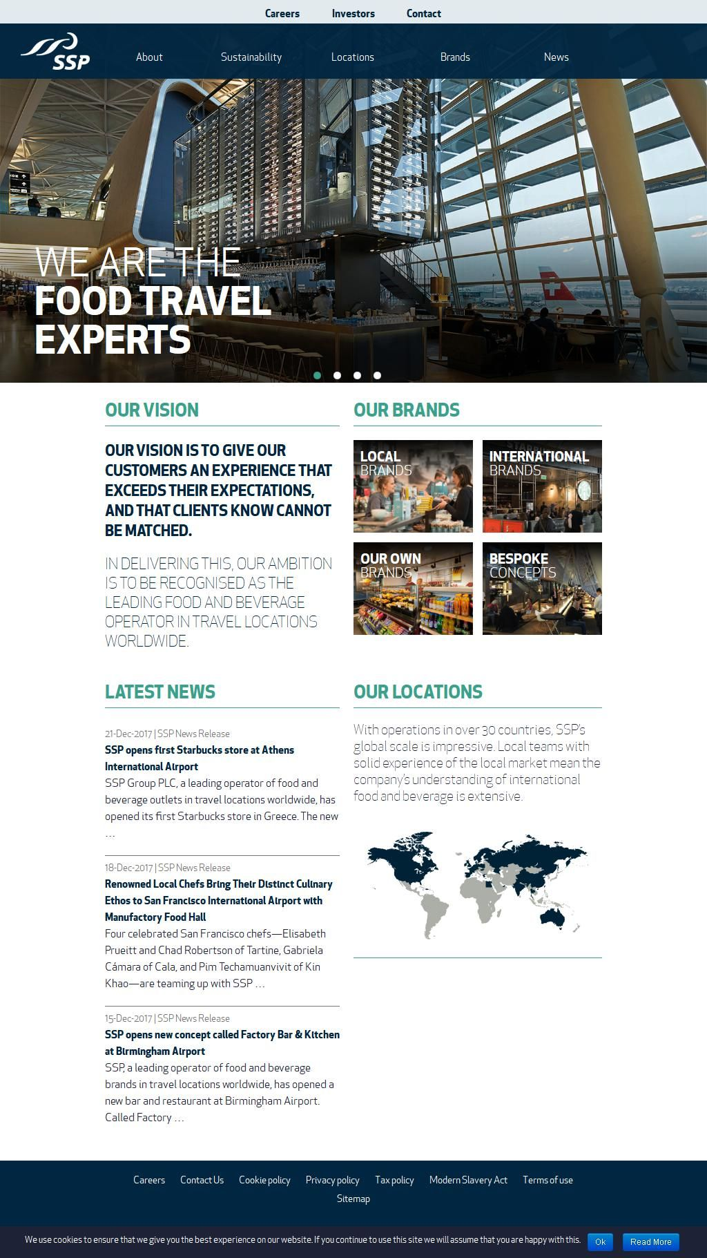 Ssp Uae The Food Travel Experts Company Al Nisf Building 7