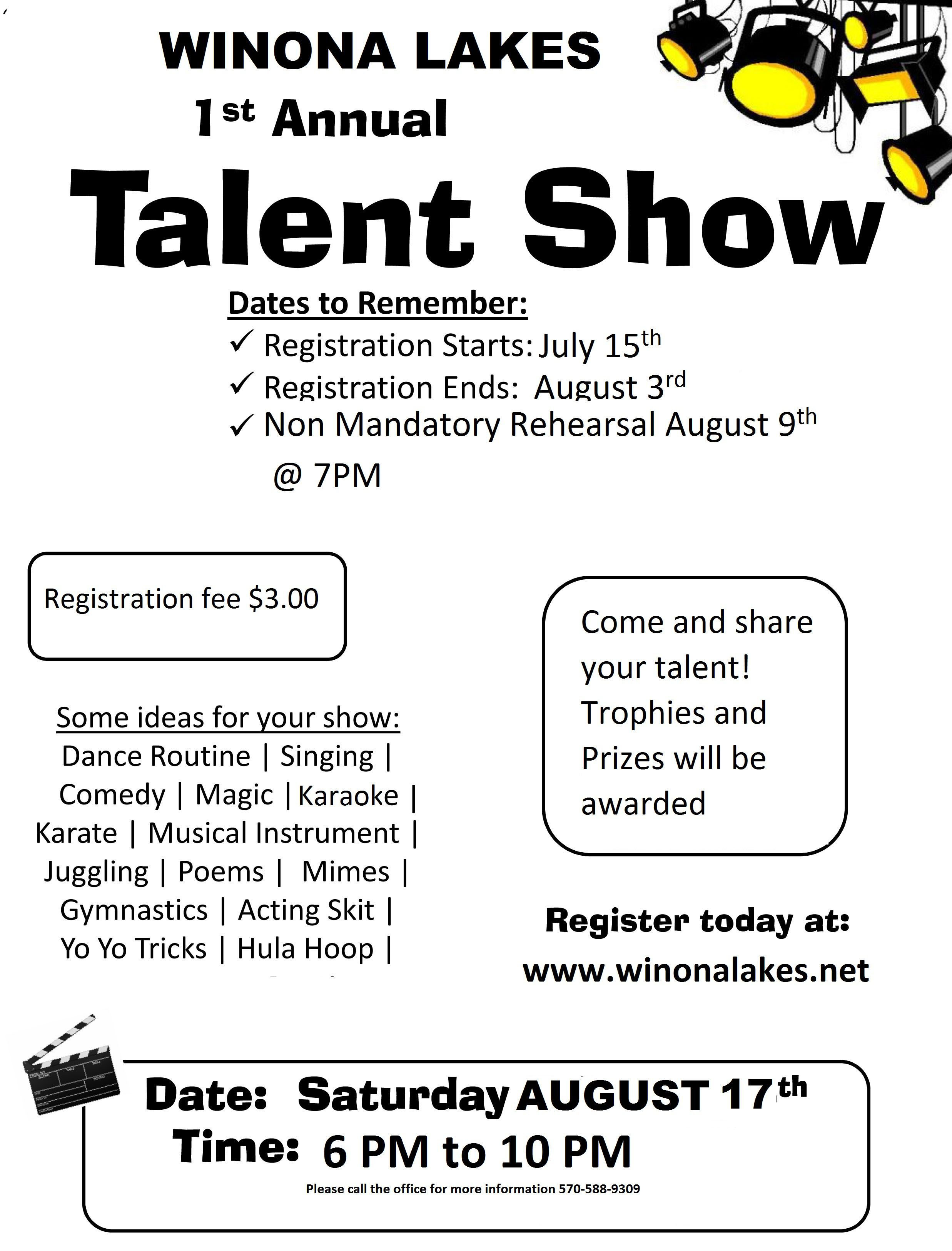 Image Result For Elementary Talent Show Flyer  Teaching