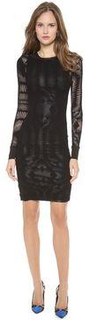 ShopStyle.ca: Jean paul gaultier Long Sleeve Knit Dress $676.70