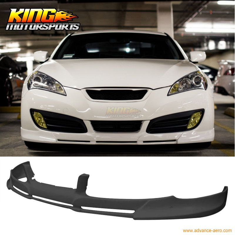 Fit For 10 12 Hyundai Genesis Coupe Pd Style Urethane Front Bumper Lip Spoiler Hyundai Genesis Coupe Hyundai Genesis Hyundai