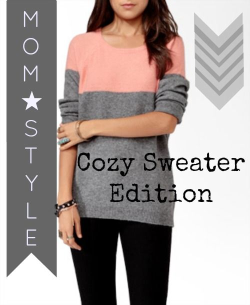 Mom Style: Cozy Winter Sweater Edition