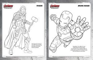 Free Kids Printables Marvel S The Avengers Age Of Ultron Coloring Pages Comic Con Family
