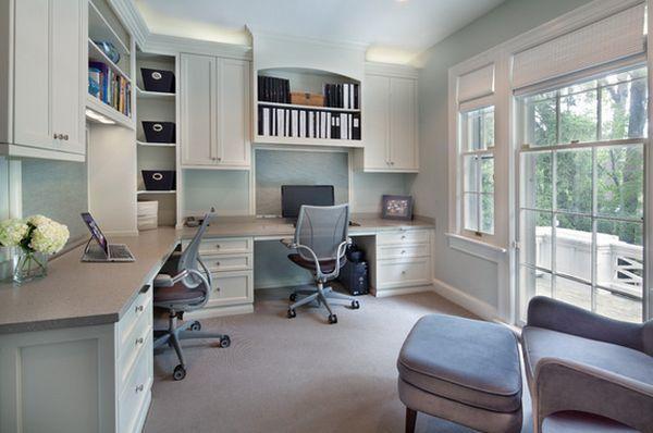 long home office desk. 16 Home Office Desk Ideas For Two Long Home Office Desk