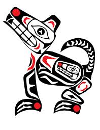 Image Result For Native American Animal Drawings Native American Animal Symbols Native American Animals Haida Art