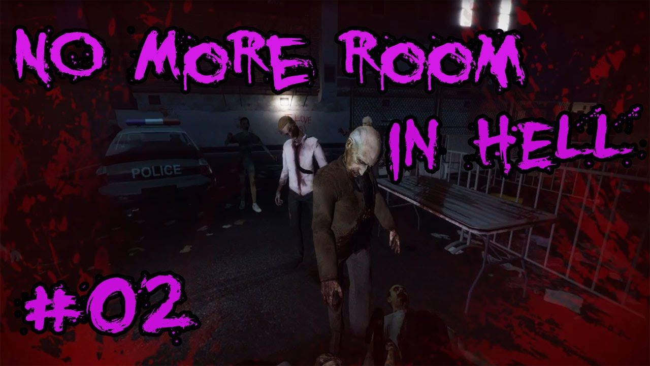 NO MORE ROOM IN HELL Gameplay German #02 Kettensägenmassaker