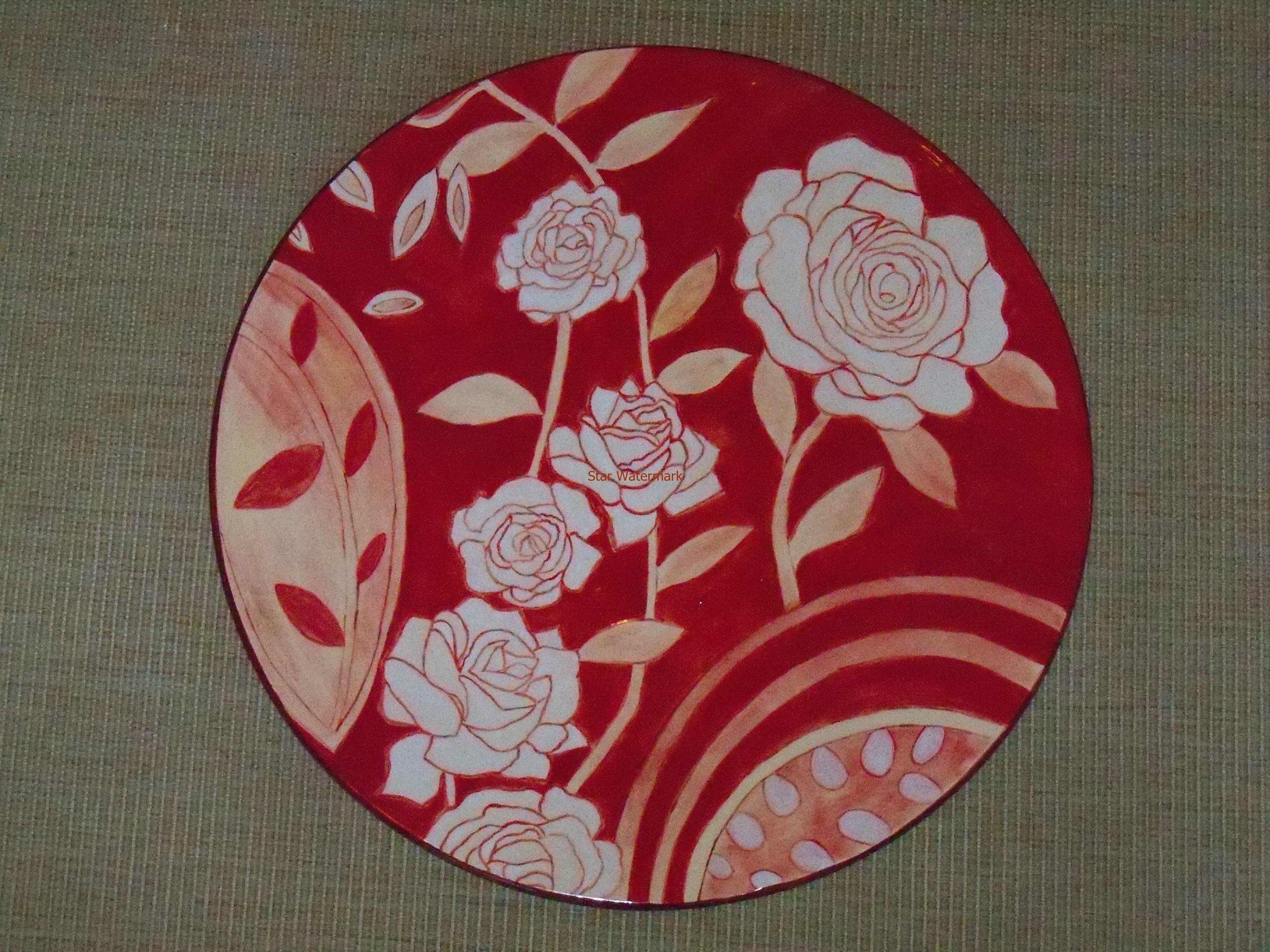 plate by Teresa Cristina Ferreira Braga