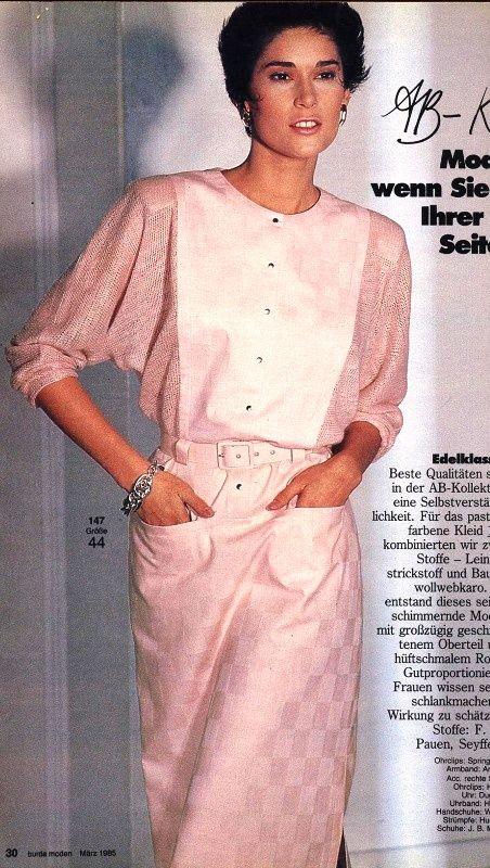 1985, Burda moden | 1985 | Pinterest