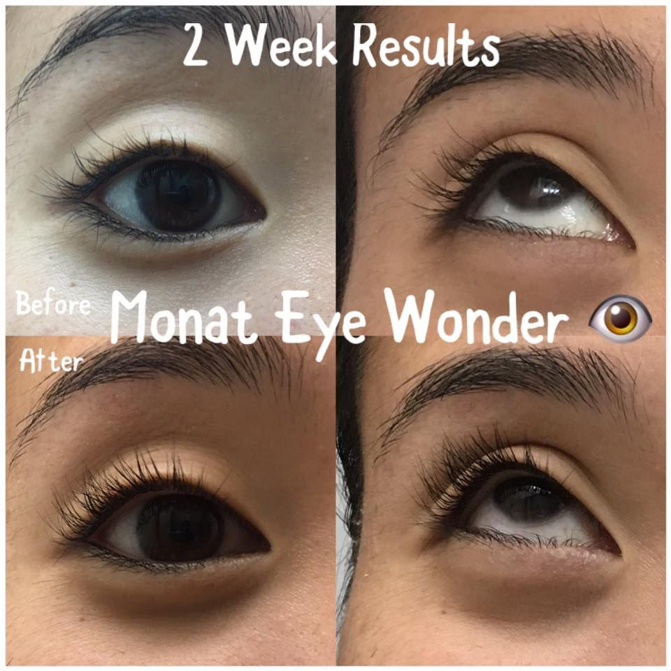 Monat Testimonial Ashlee S Results Using Eye Wonder Lash Brow
