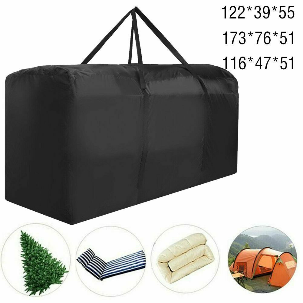 Waterproof Cushion Storage Bag Outdoor Patio Furniture Protection
