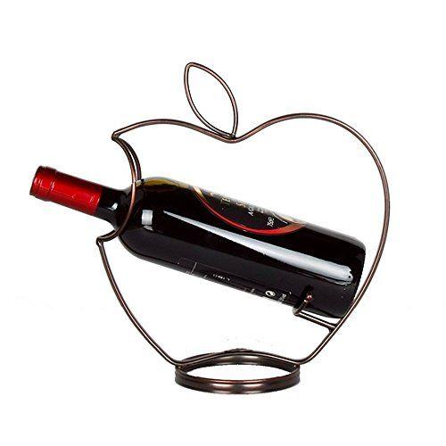 Ieasycan Wine Rack Bar Kitchen Holder Single Bottle Apple...…