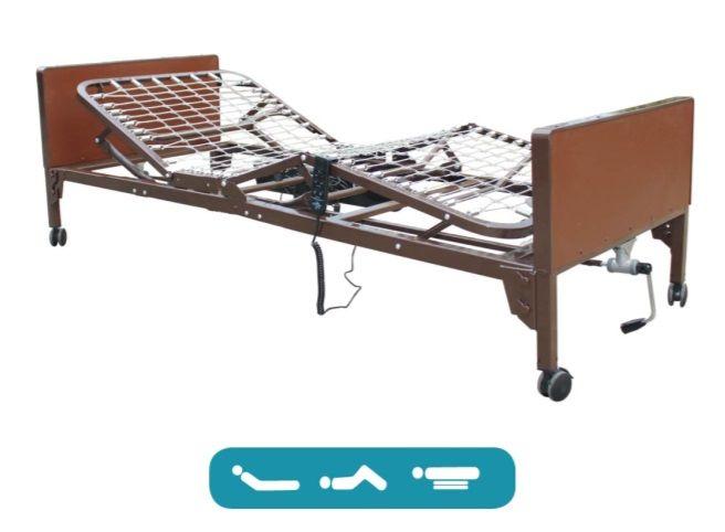 Semi-electric Homecare Bed