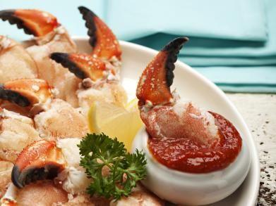 Krabbenpootjes met tomatendip   Libelle-lekker.be