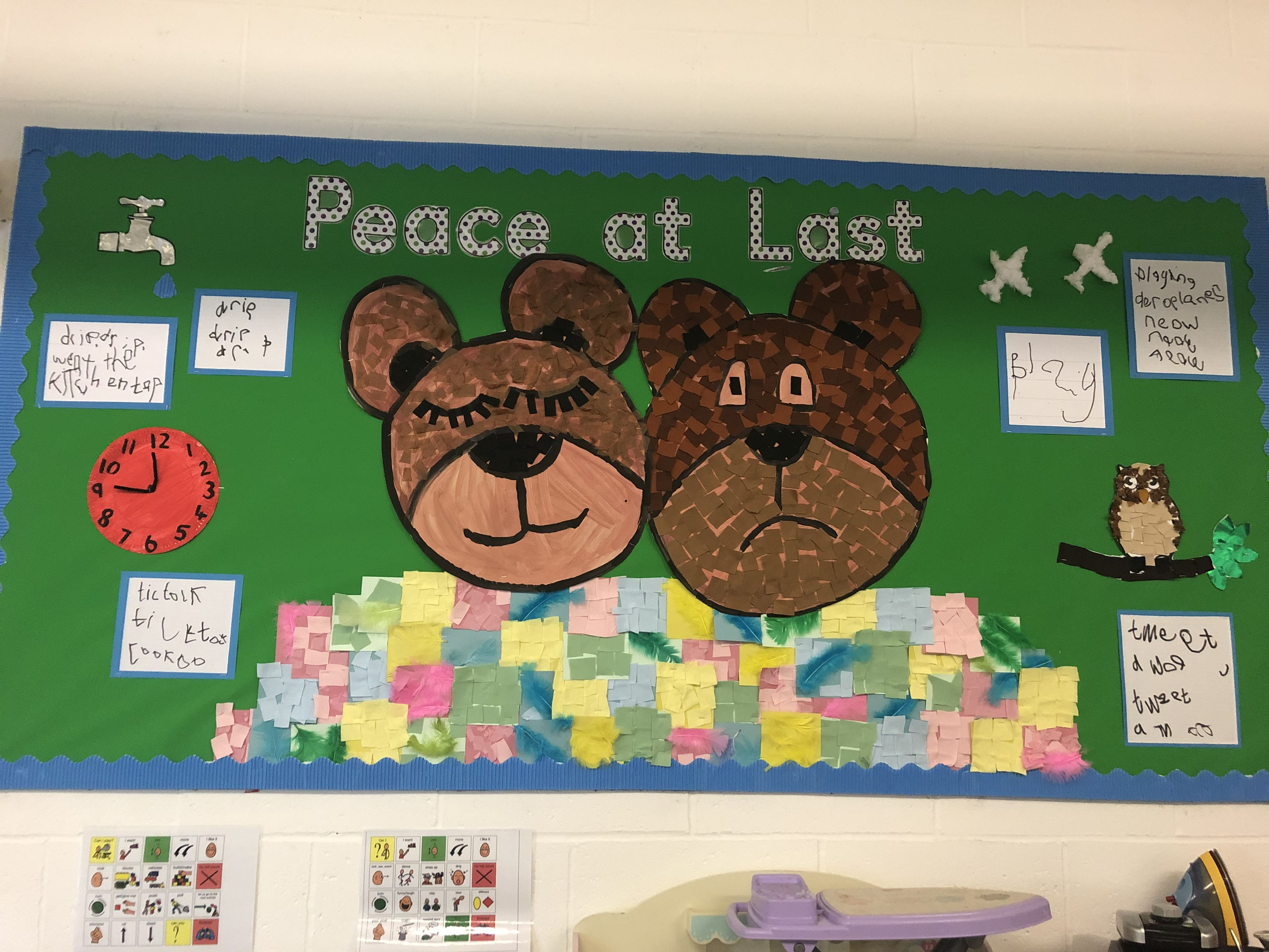 Display Board For Peace At Last