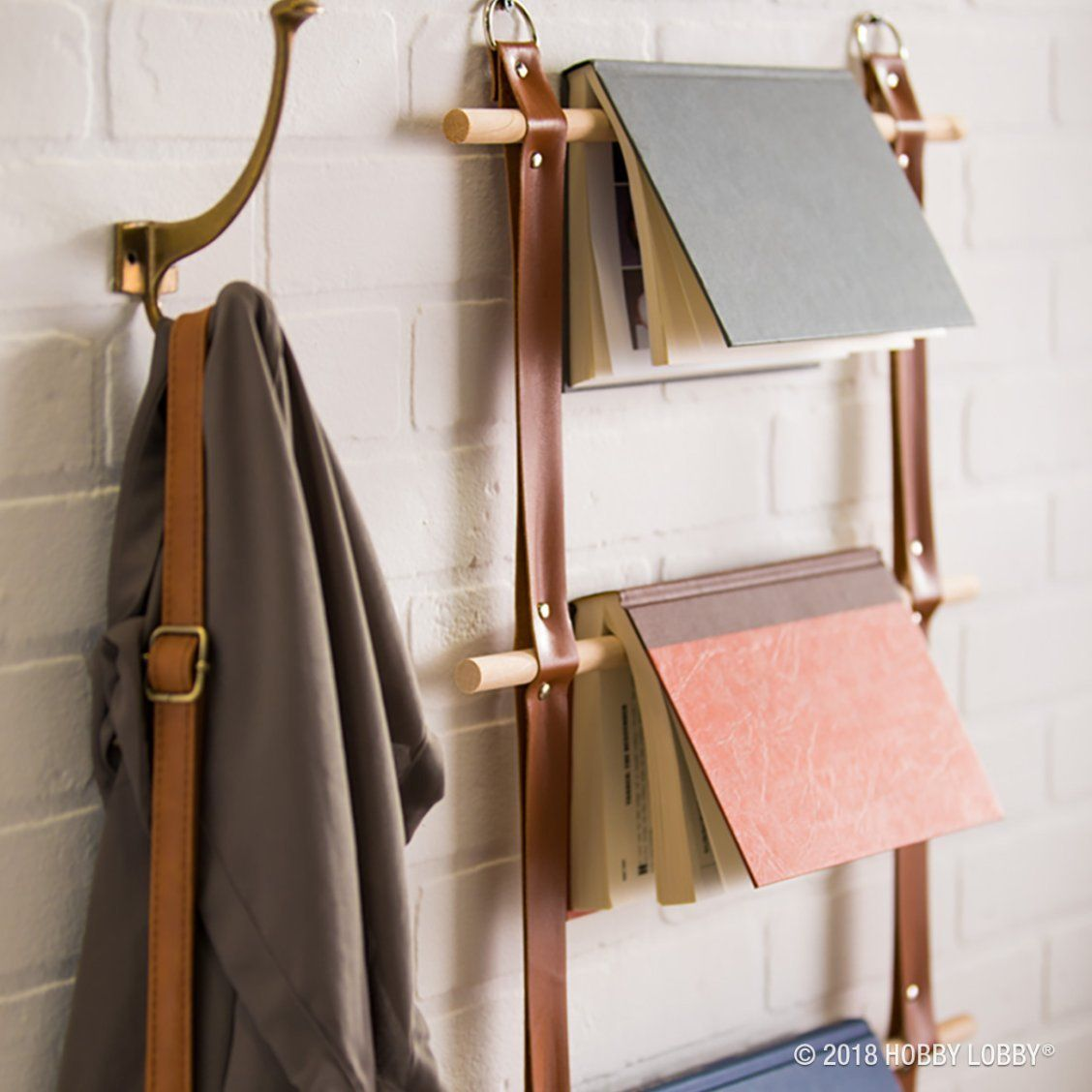 Add Minimalist Elements To Your Home With A Simple Diy Dowel Ladder Diy Home Decor Design Your Own Home Decor