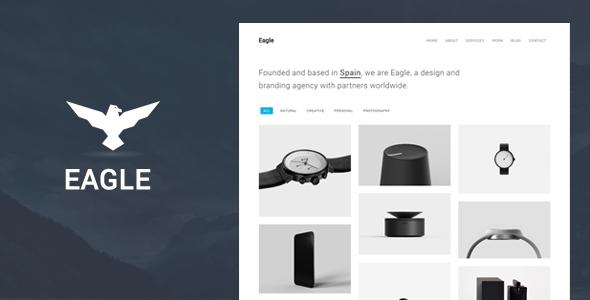 Eagle - Responsive Minimal WordPress Theme | Wordpress, Minimal and ...