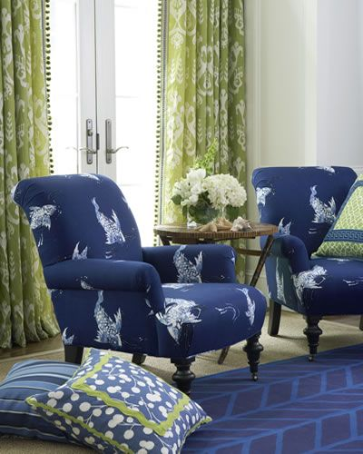 Love The Blue And Green   Decorating Inspiration   Calico Corners · Green  Living RoomsLiving Room ...