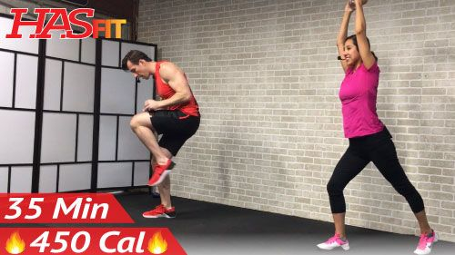 35 Min Standing Abs & Low Impact Cardio - HASfit - Free Full Length Workout Videos and Fitness Programs