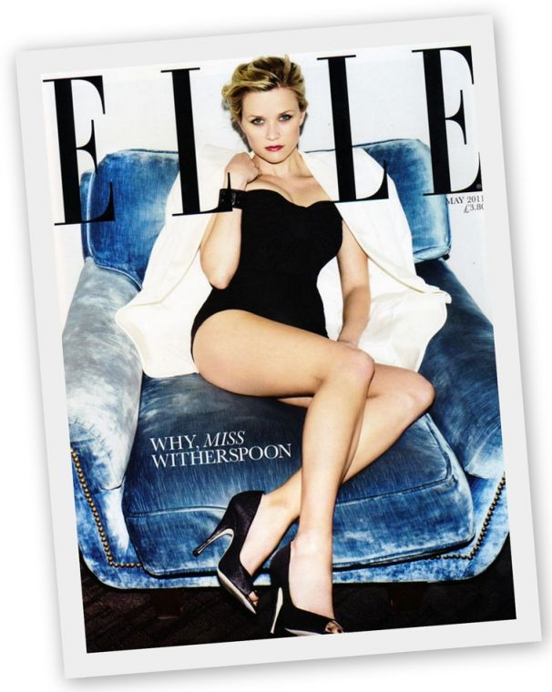 #reesewitherspoon #ElleMagazine