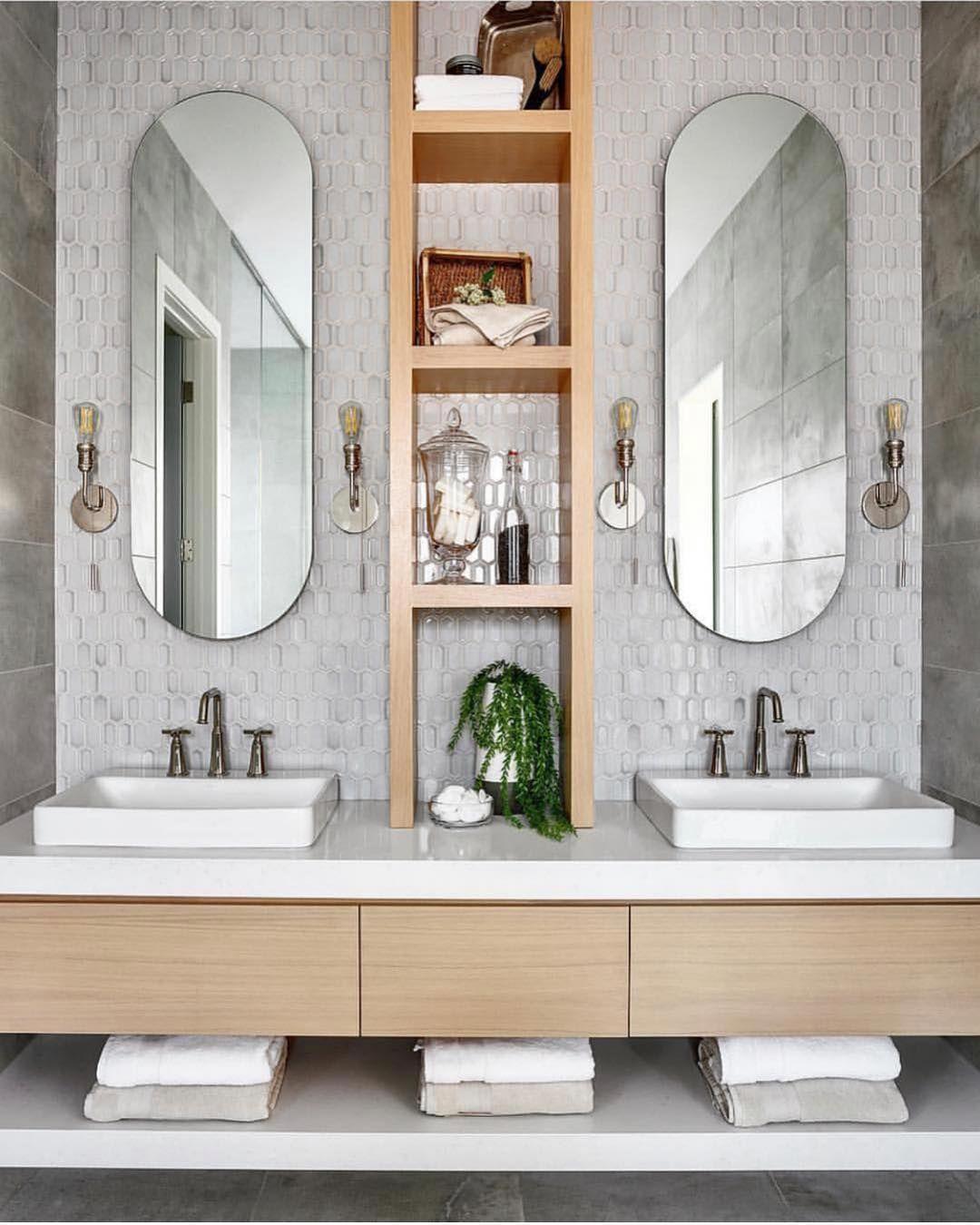 bathrooms of instagram on instagram mirror goals by on custom bathroom vanity mirrors id=86949