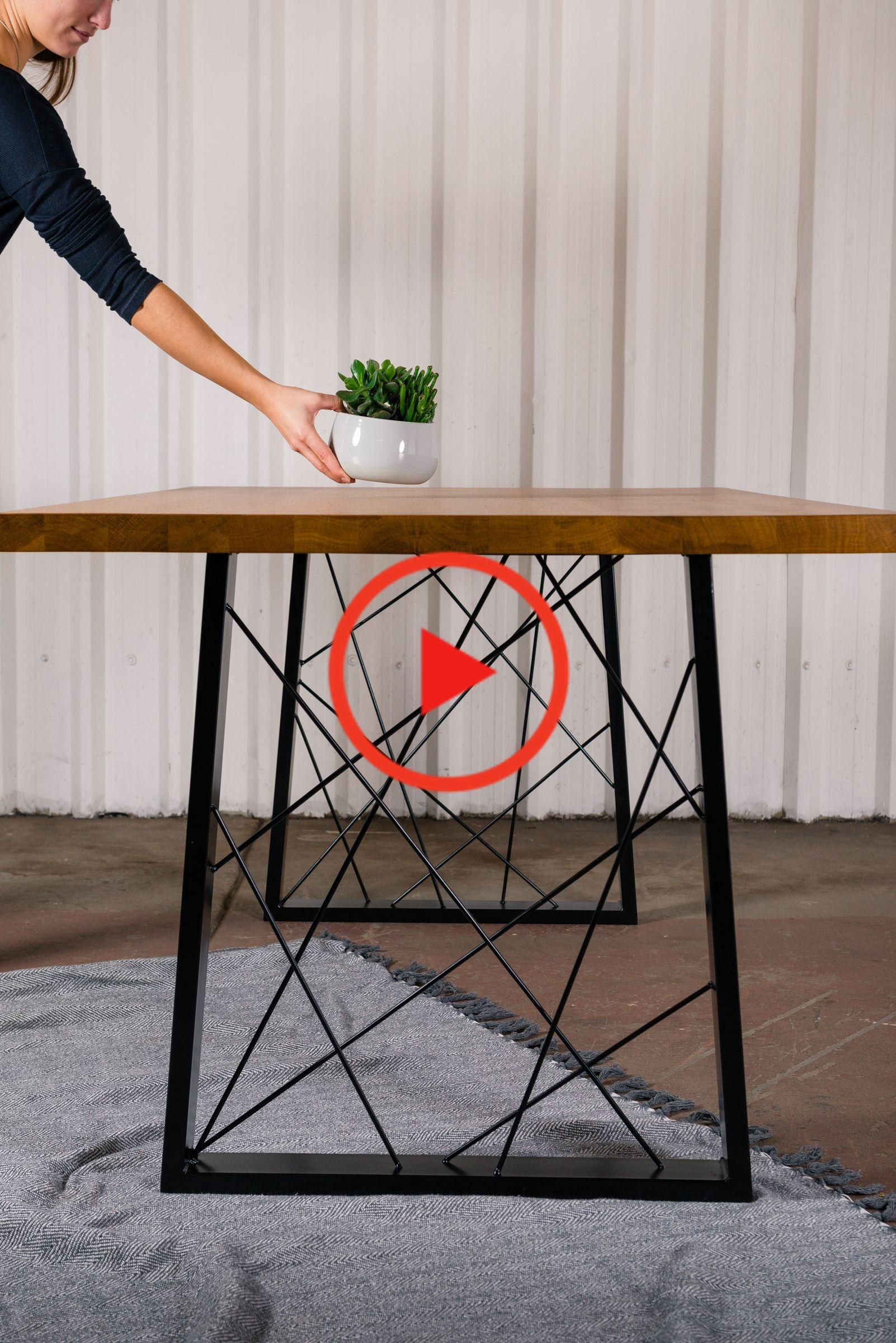 Our Guide To Creating An Affordable Dining Table In 2020 Metal