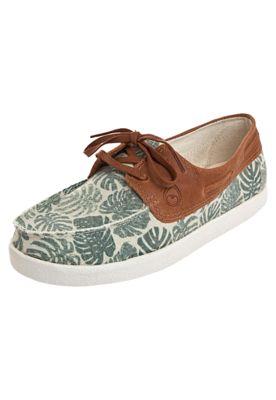 f3da34a58 Mocassim Dockside Perky Folhas Caramelo   Sapatos para adorar   Sapatos