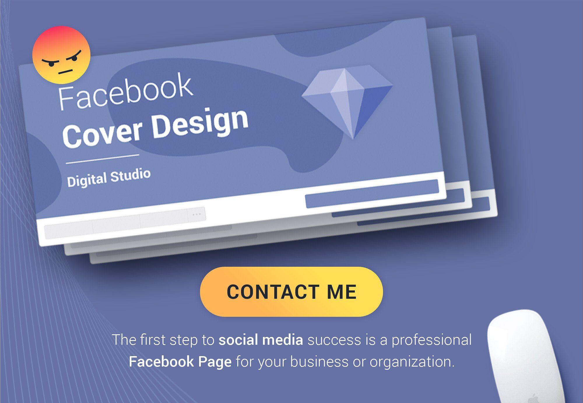 Facebook Templates Mockups Facebook Cover Design Social Media Success Social Media Pack
