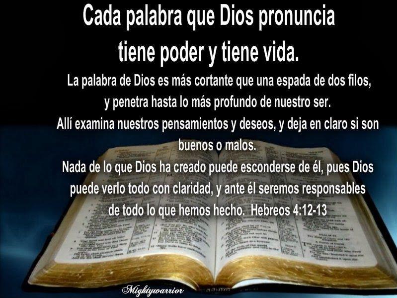 Jesus Poderoso Guerrero Hebreos 4 12 13 Palabra De Poder Dios Palabras Palabra De Vida