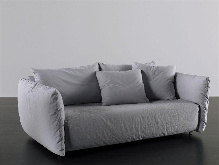 Sofa Bed With Removable Cover Scott Collection By Meridiani Sofa Upholstered Sofa Bed Sofa Bed