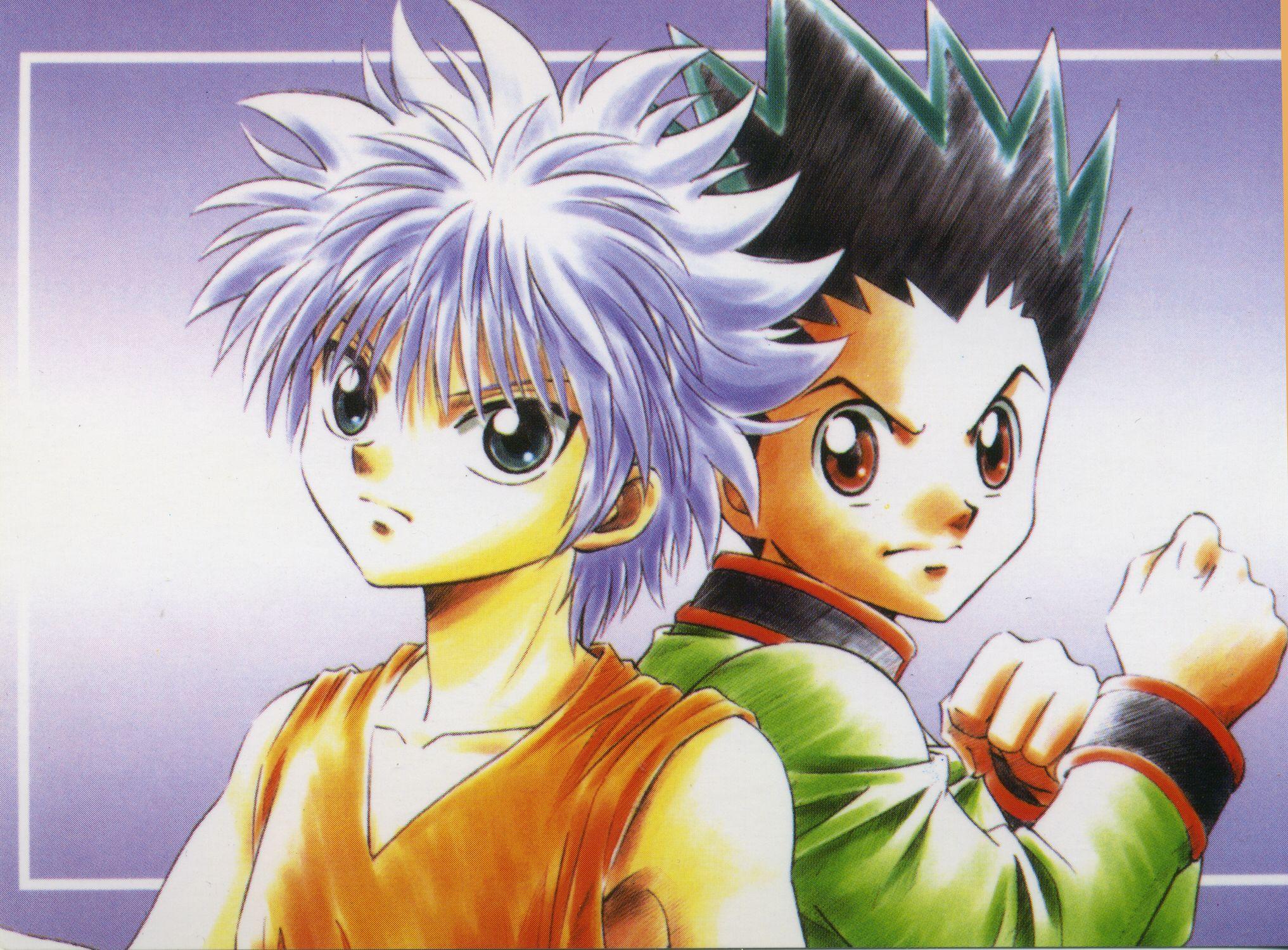 killua x gon hunter x hunter Anime Love + Manga