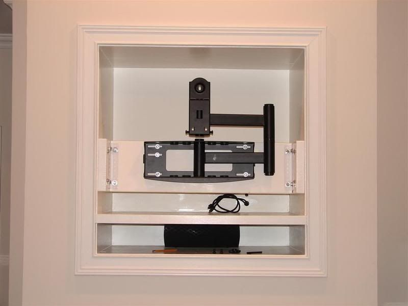 My Story How I Eliminated My Tv Niche Above The Fireplace This Is Definitely My First 1st