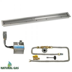 """60"""" x 6"""" Linear Drop-In Pan with S.I.T. System - Natural Gas"""