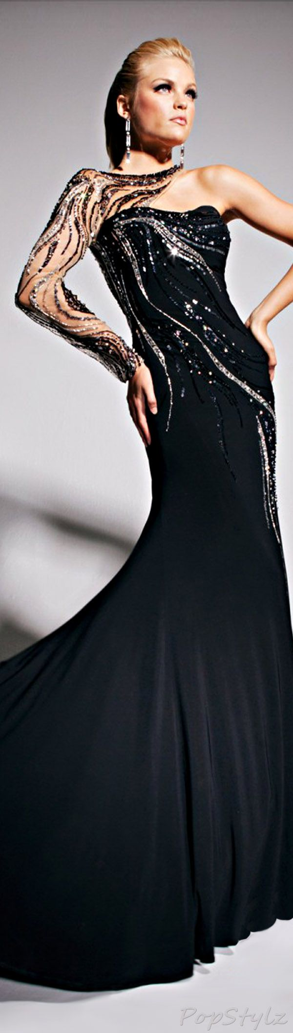 Tony Bowls Evening Spring 2013 Gown