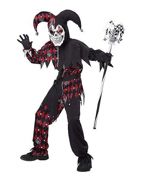 Kids Sinister Jester Costume - Spirithalloween halloween