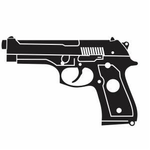 Pin On Gun And Pistol Svg