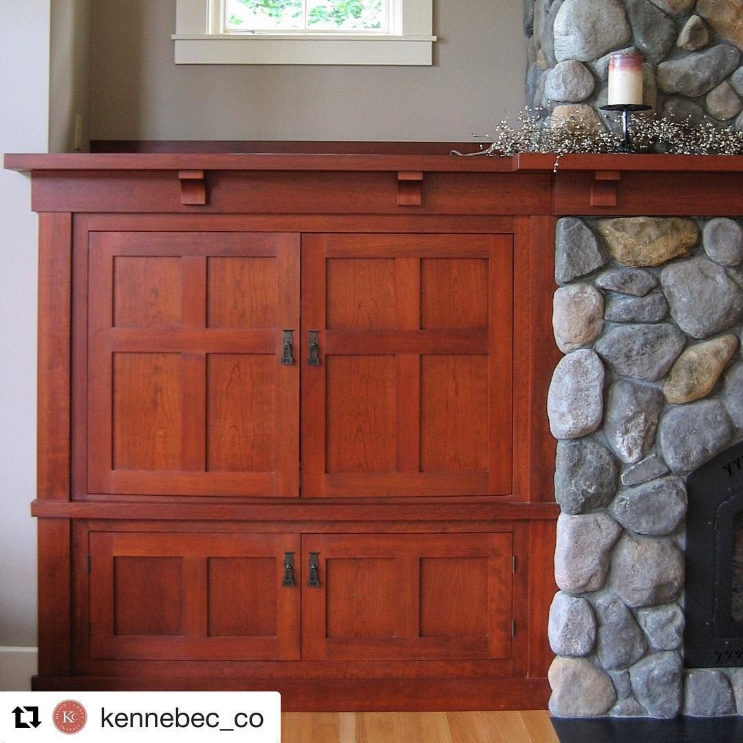 Cabinets And Fireplace Surrounds: Some Interior Inspiration. 🛠 #Repost @kennebec_co