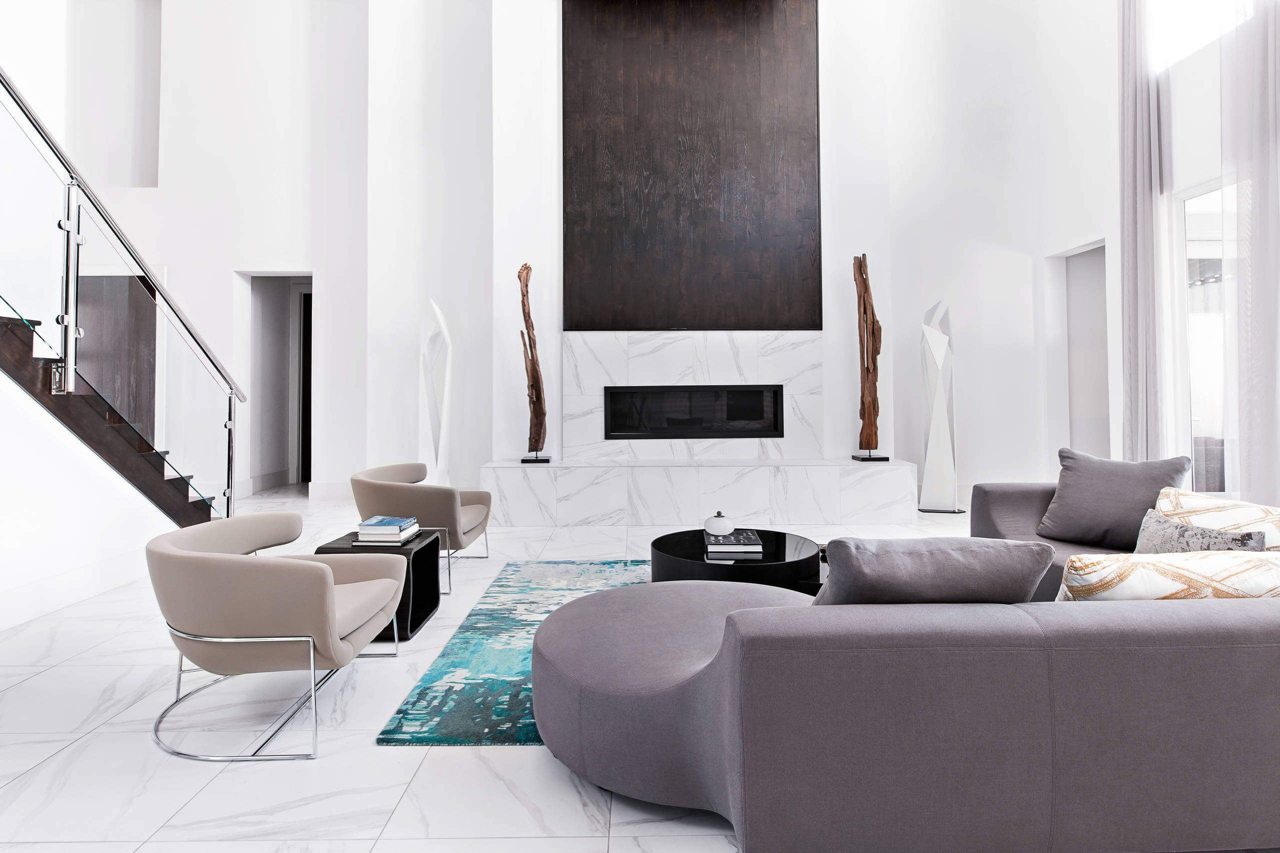 couture modern residence in houston by contour interior design