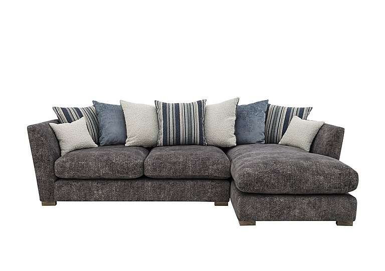 Nautical Large 3 Seater Pillow Back Chaise Sofa Chaise Sofa Furniture Village Chaise