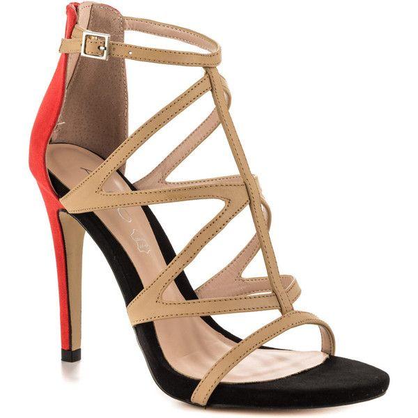 Aldo Women's Sevelalla - Bone ($82) ❤ liked on Polyvore featuring shoes,  heels