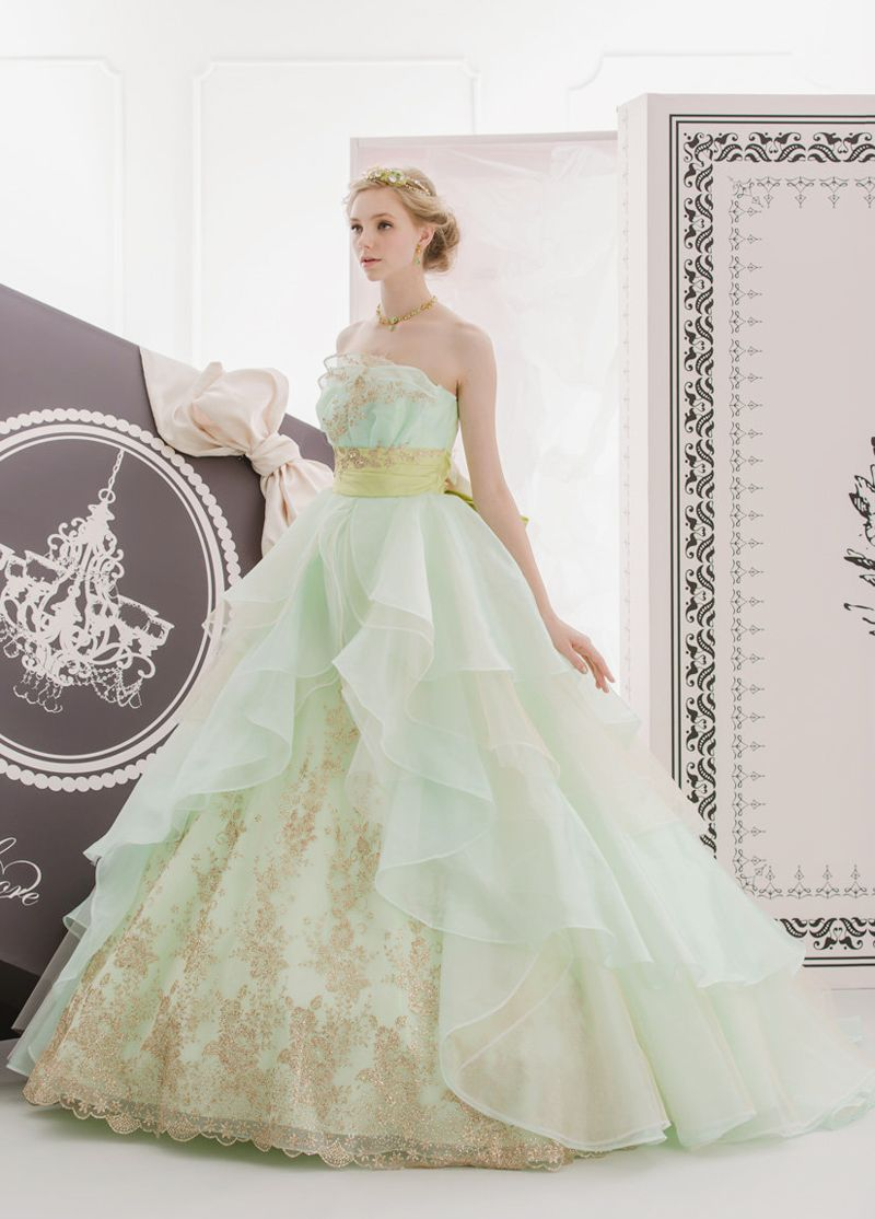 20 gorgeous colored wedding gowns fit for a classic princess gowns pretty dresses prom dresses gowns