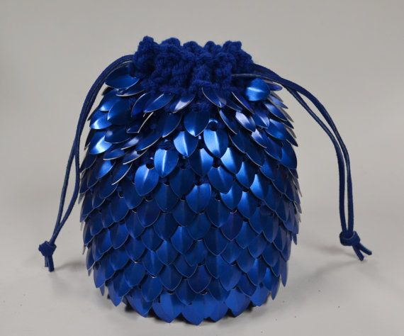 scale mail dice bag