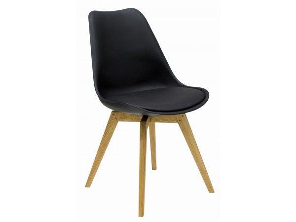 Olbia Stuhl Schwarz Eiche Das Perfekte Zuhause Stuhl